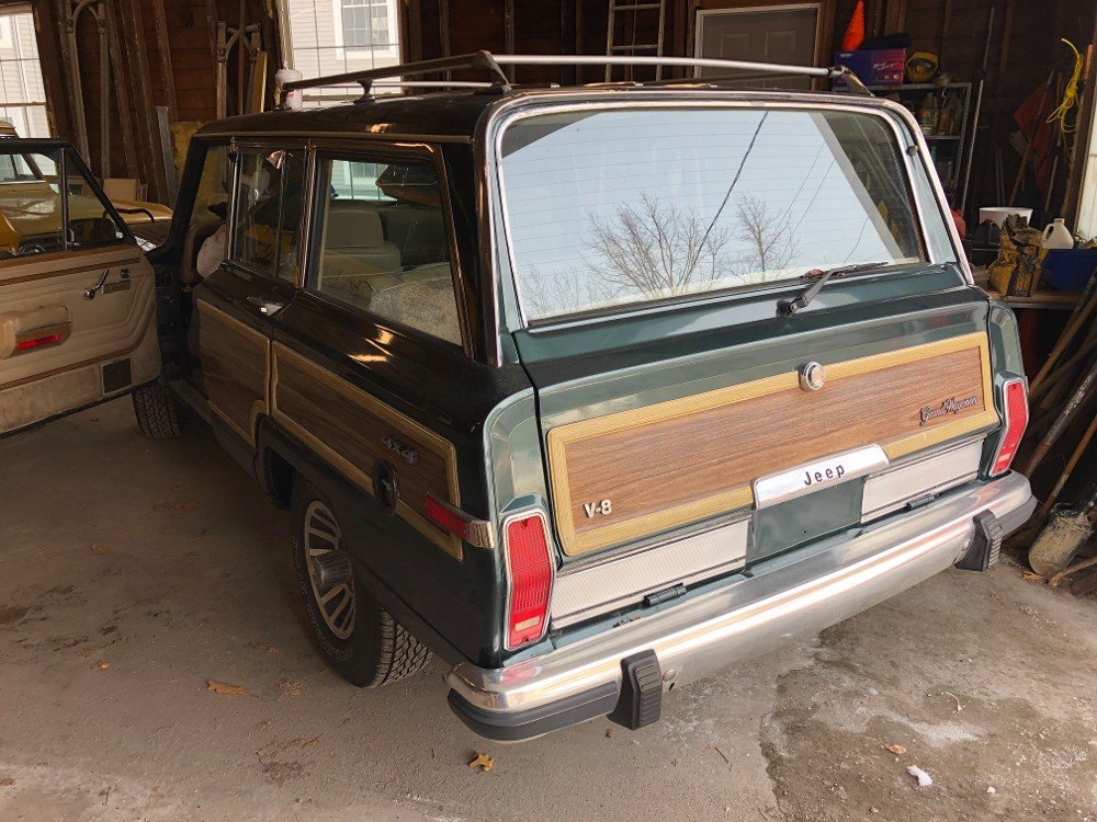 Back Alternate Angle of Jeep Grand Wagoneer